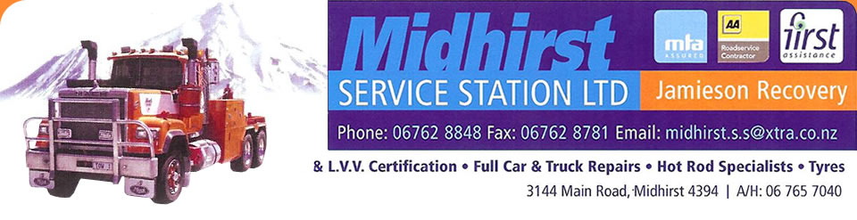 Midhirst Service Station Ltd -